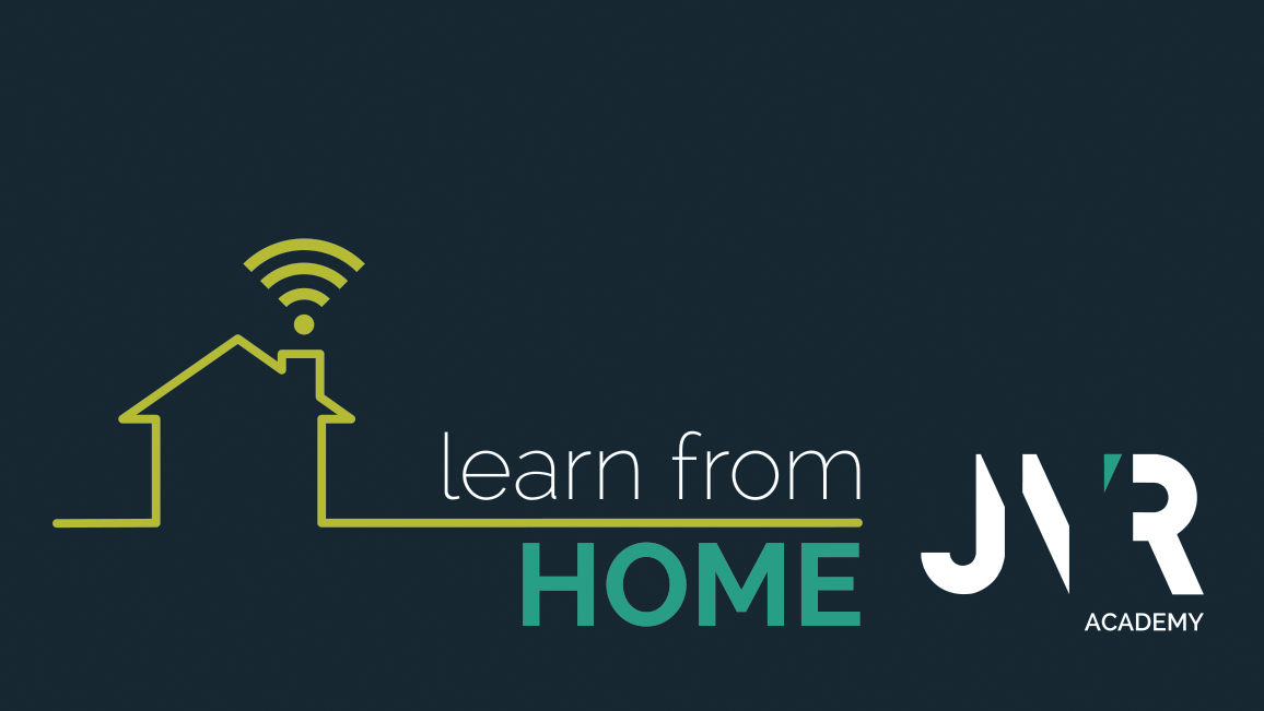 learn from home logo